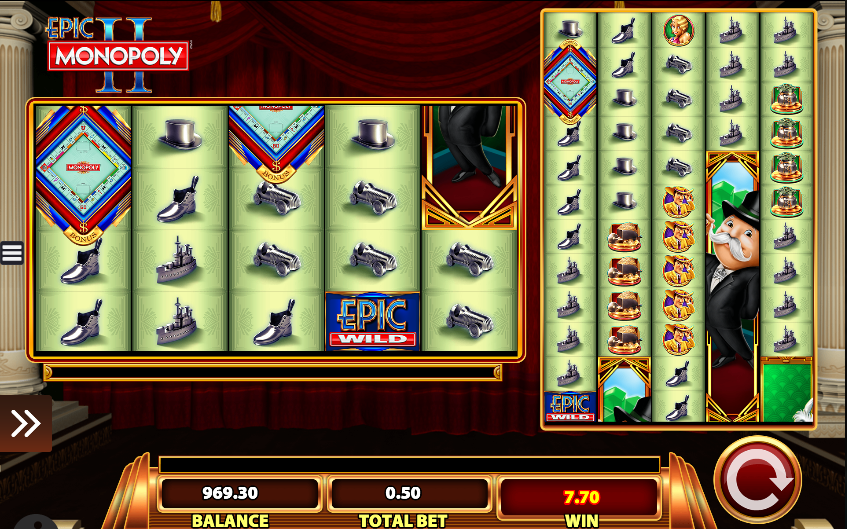 Epic Monopoly II Slots - Play the Free Online Game by WMS