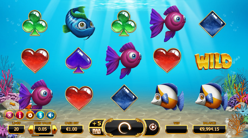 golden fish tank screenshot