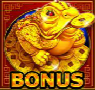 golden money frog bonus