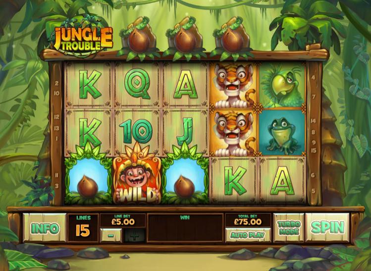 jungle trouble screenshot