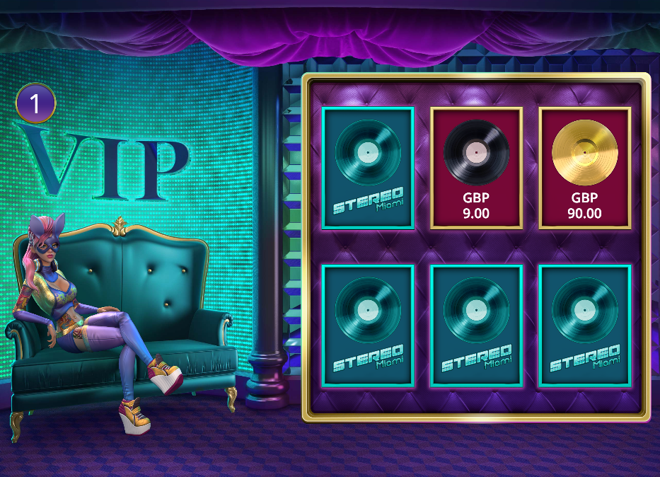 Stereo Miami Slot Review & Free Instant Play Casino Gamee