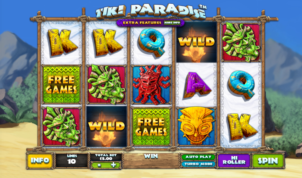 tiki paradise screenshot