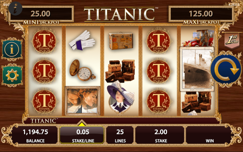 Titanic 1912 Slot - Play Now with No Downloads