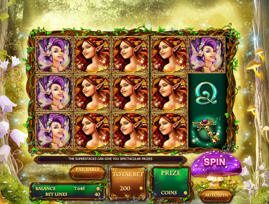 Forest Fairies Slot - Play Free Red Rake Gaming Games Online