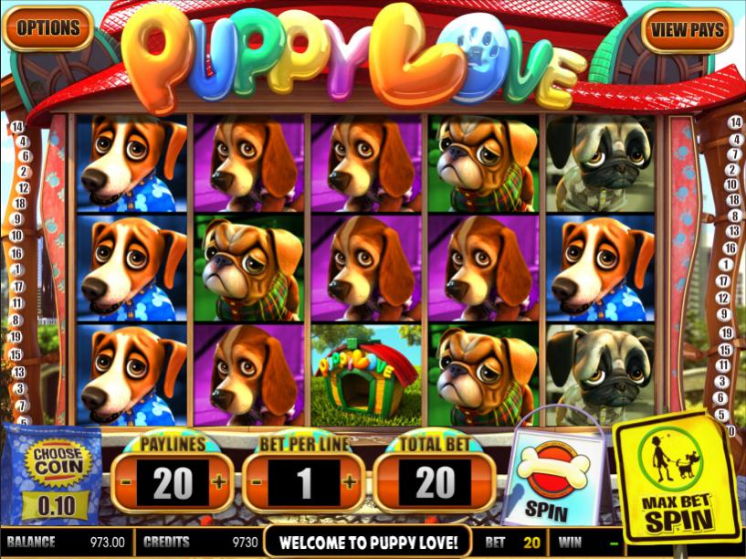 Spiele Puppy Love - Video Slots Online