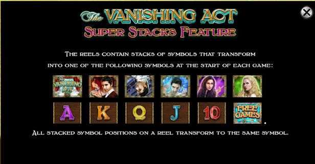 Vanishing Act Slots