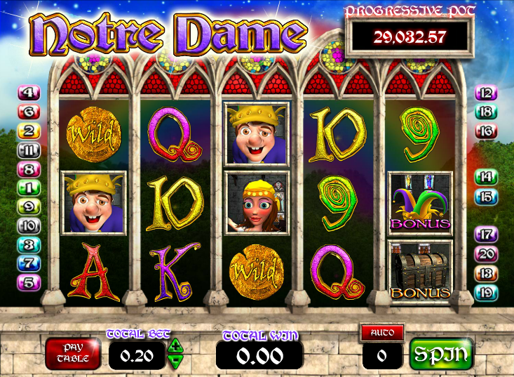 Notre Dame Slot Machine - Play Online for Free or Real