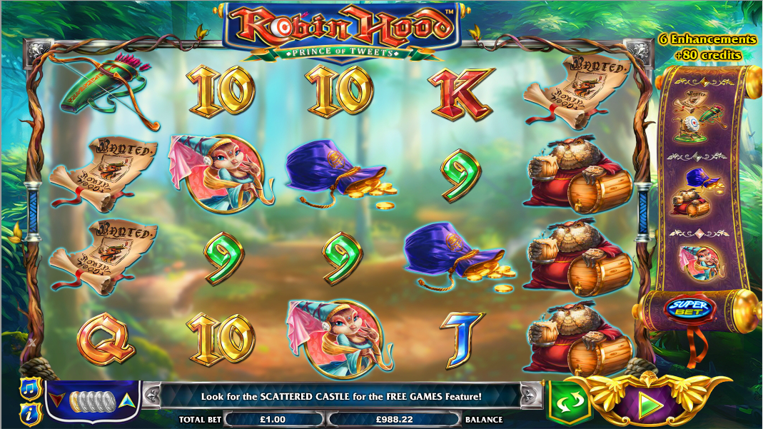 Robin Hood Slot Review & Free Instant Play Game