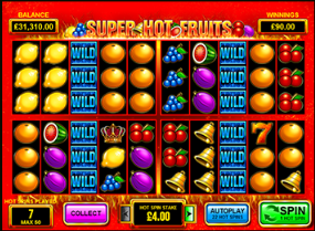 super hot fruits bonus