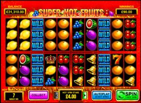 super hot fruits bonus