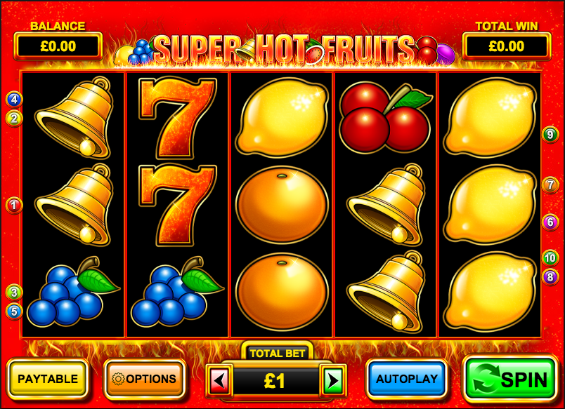 Spiele Super Hot Fruits - Video Slots Online
