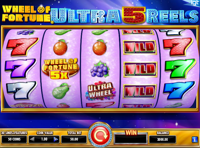 Wheel of Fortune Ultra 5 Reels Slot - Play for Free Now