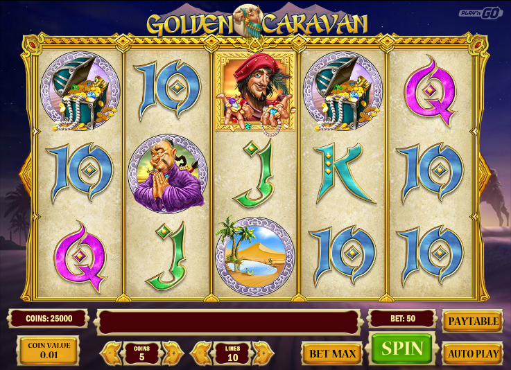 Golden Caravan Slot Machine - Play Online for Free Now
