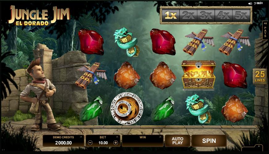 Jungle Jim Game