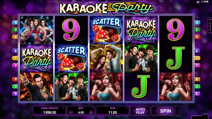 Candy bars slot machine