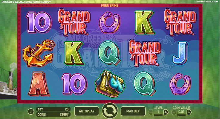 grand casino online free spin game