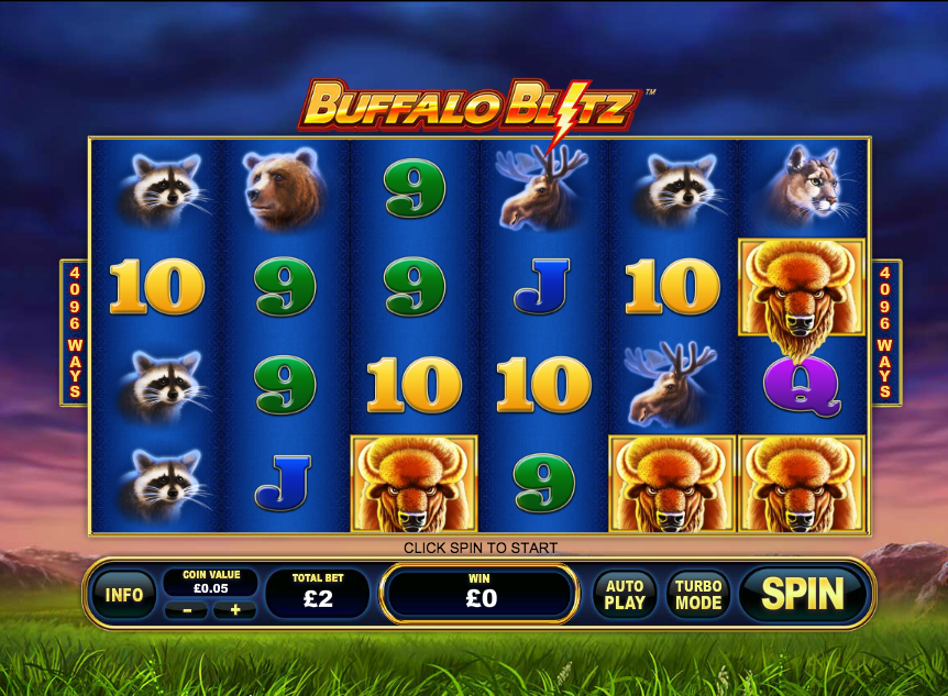 Play Buffalo Blitz Online Slots at Casino.com NZ
