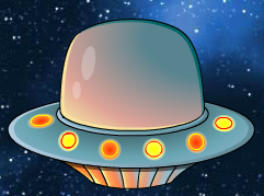 out of this world spaceship