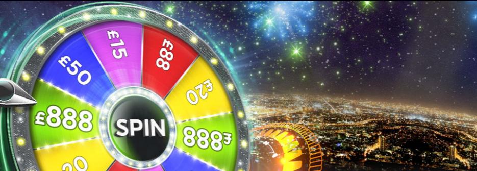 888 casino wheel