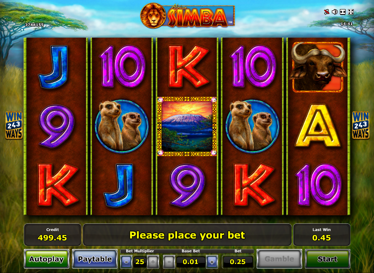 Spiele African Simba - Video Slots Online