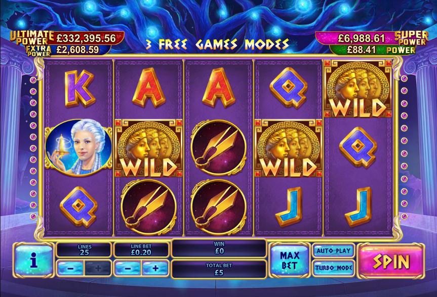Spiele Three Gods - Video Slots Online