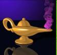 genies treasure lamp