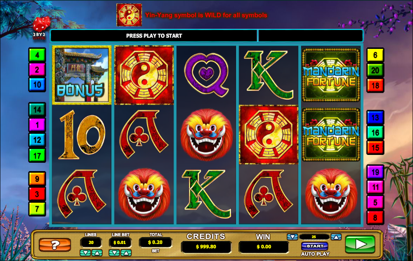 Mandarin Fortune™ Slot Machine Game to Play Free in 2by2 Gamings Online Casinos