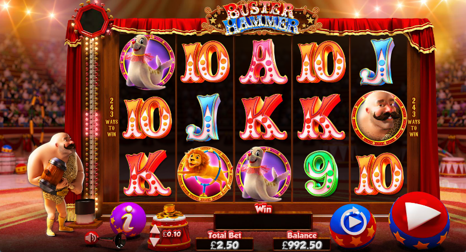 Buster Hammer™ Slot Machine Game to Play Free in s Online Casinos