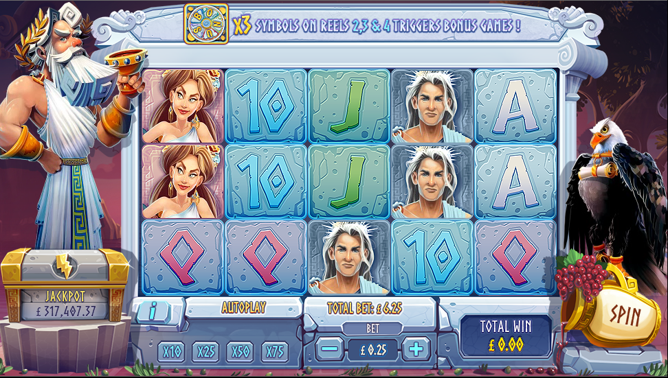 Gods of Gold Slots Review & Free Instant Play Game