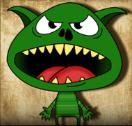 little goblins scatter
