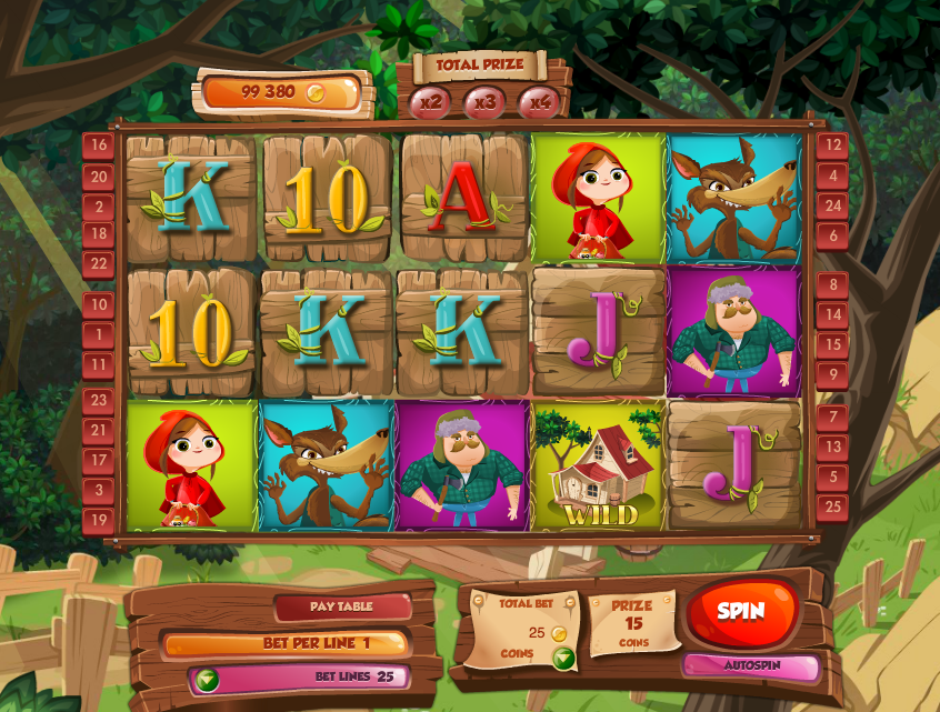 slots online no deposit red riding hood online