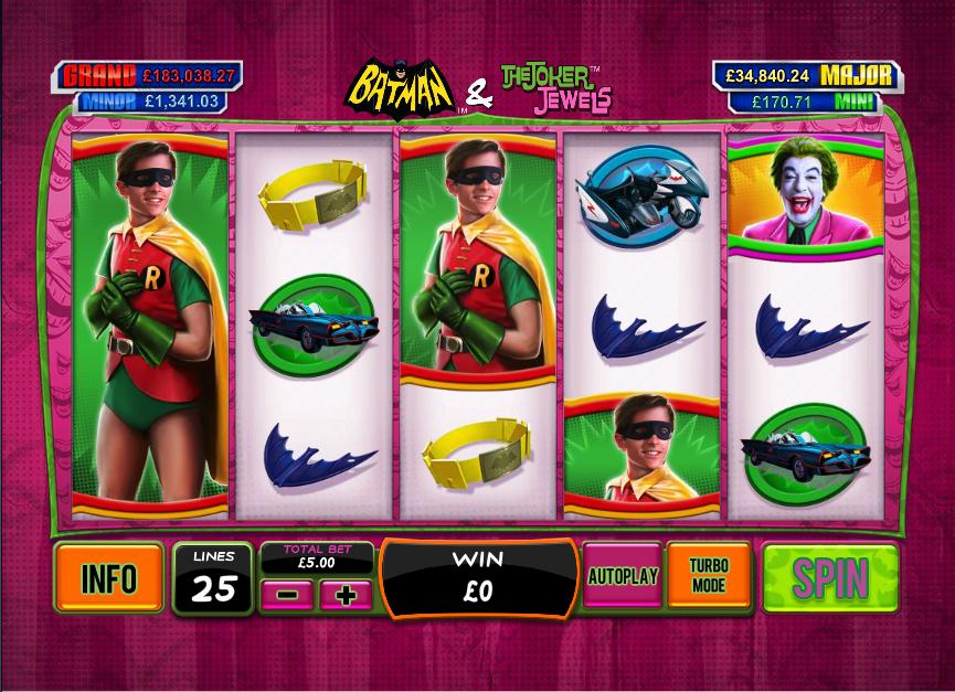 batman & the joker jewels screenshot