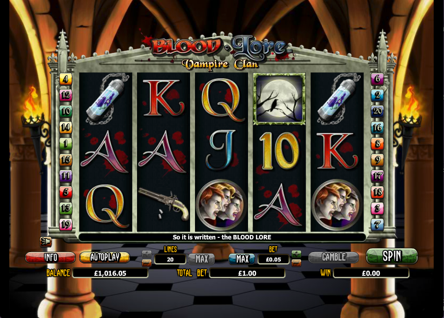 Play Dracula Slot Online at Casino.com UK