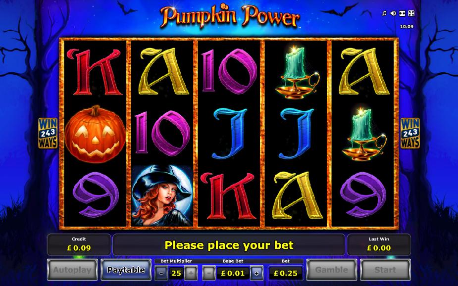 Pumpkin Power Slots