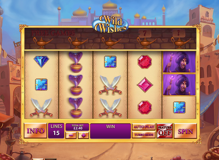 wild wishes screenshot