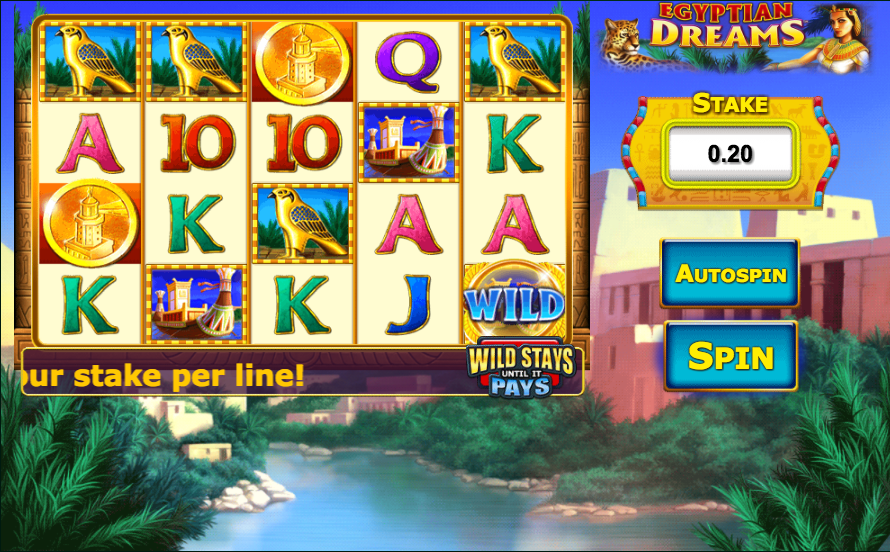 Spiele Egyptian Dreams - Video Slots Online