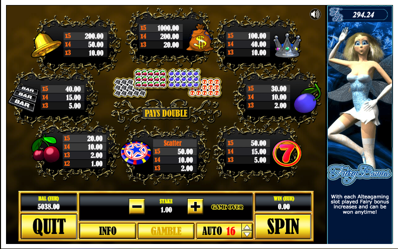 Lollipop Slot - Play Free Altea Gaming Games Online