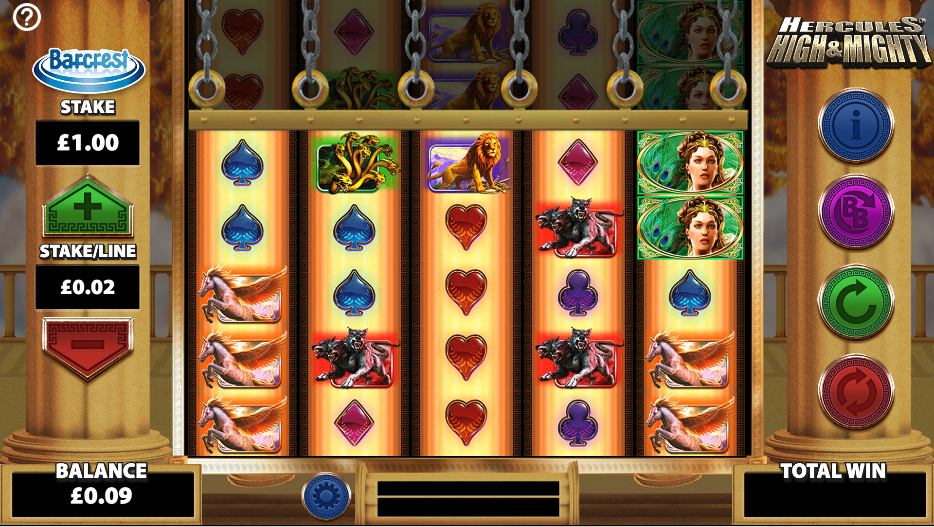 Spiele Hercules High & Mighty - Video Slots Online