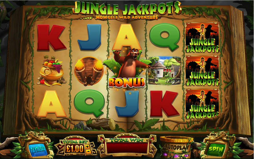 jungle jackpots screenshot