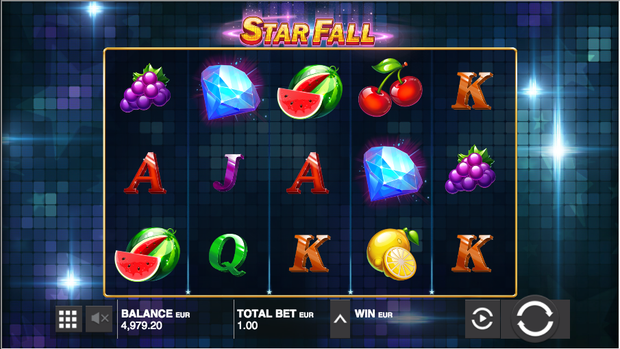 Star Fall Slots - Play Push Gaming Games for Fun Online