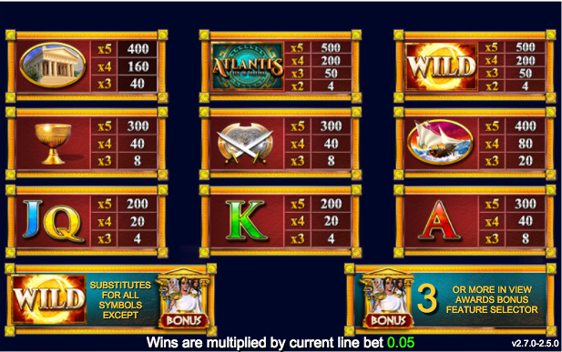 Spiele Battle For Atlantis - Video Slots Online