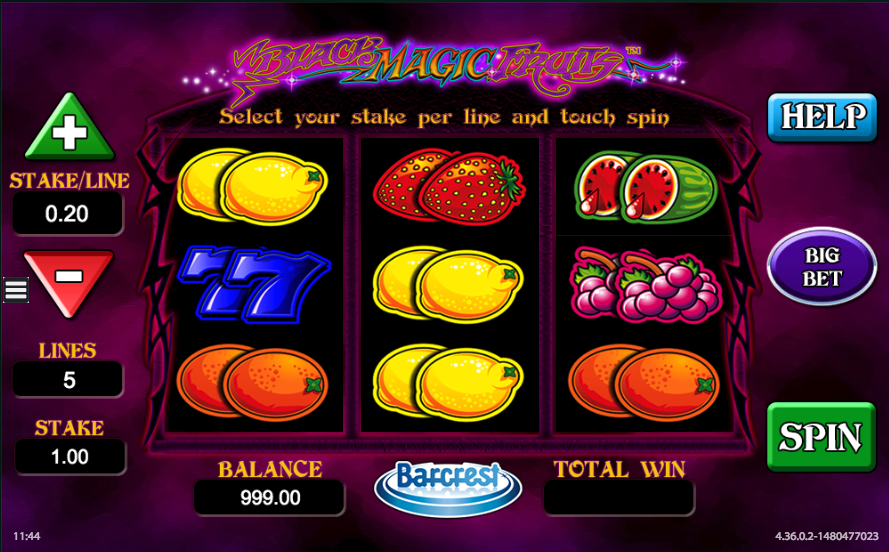 Black Magic Fruits Slot - Play for Free Online Today