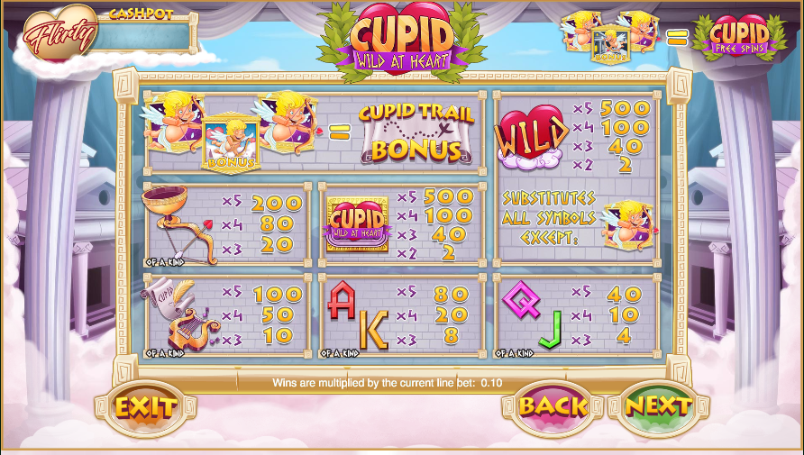 Cupid: Wild at Heart Slots - Play Now for Free or Real Money