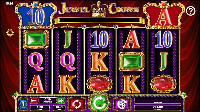 Jewel in the Crown Slot Machine - Play for Free Online Today