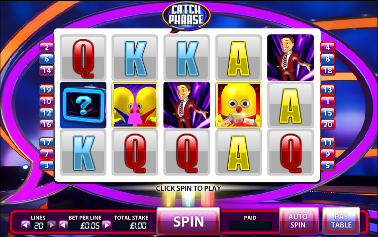 Catch Phrase Online Slot Machine - Play Online for Free Now