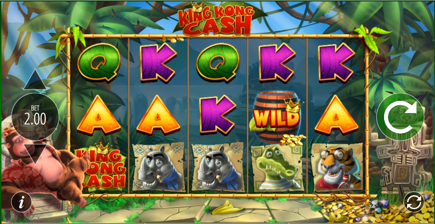 king kong cash screenshot
