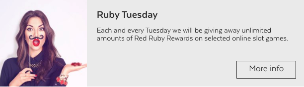 32red ruby tuesday screenshot