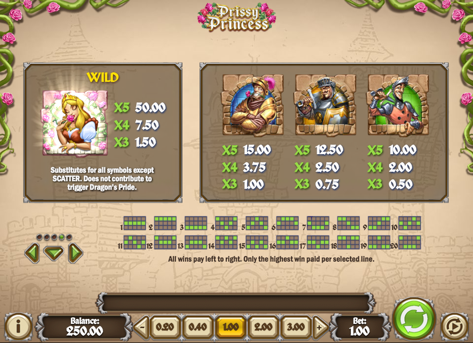 Prissy Princess Slot Machine - Play Free Casino Slots Online