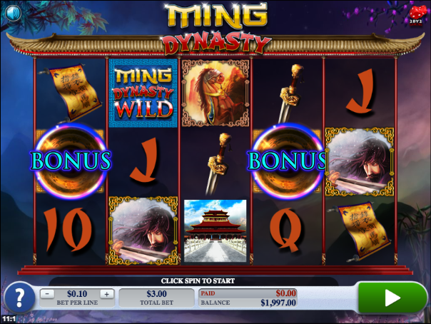 Dynasty Of Ming Slots - Review and Free Online Game