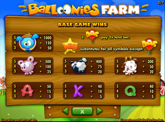 Balloonies Farm Slots - Play Online for Free or Real Money